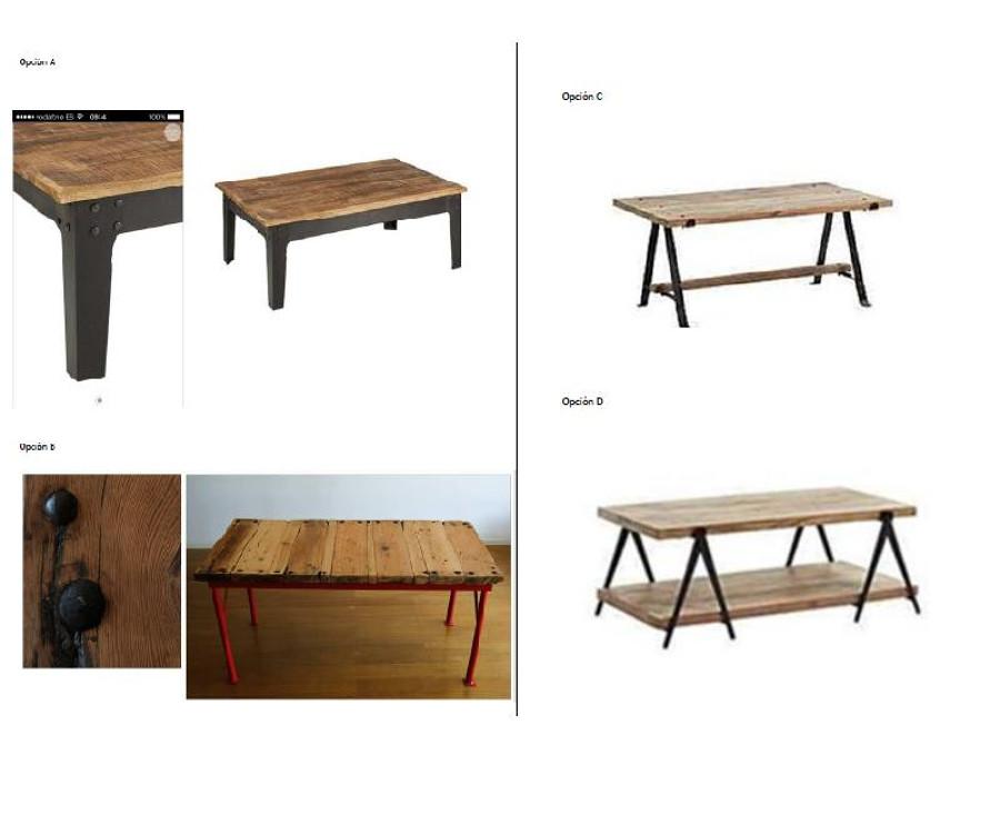 Presupuesto de forja para mesa de madera y forja bilbao - Patas de forja para mesas ...