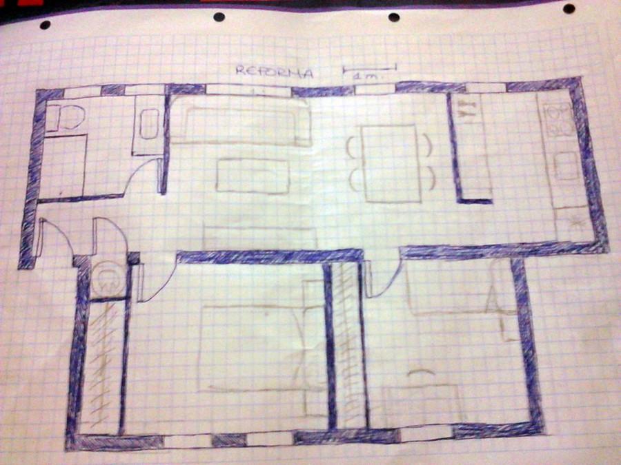 Reforma piso 59 m2 tortosa tarragona habitissimo - Reforma piso 50 m2 ...