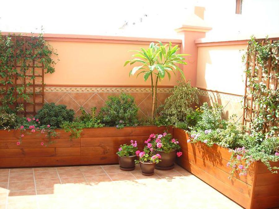 Necesito para mi terraza mesa y jardineras alicante - Jardineras para terrazas ...