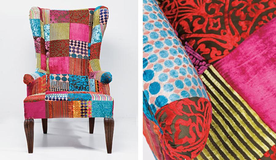 Tapizar un sillon orejero platja de palma palma de - Telas para tapizar un sillon ...