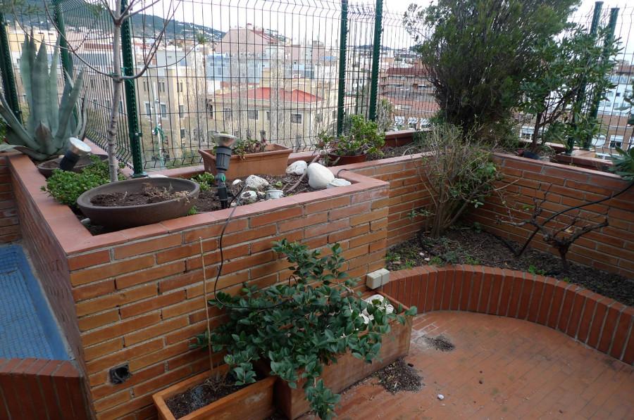 Instalaci n riego autom tico en terraza tico - Atico terraza barcelona ...