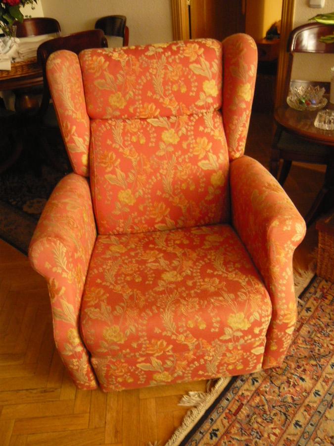 Tapizar sofa tres plazas y dos sillones relax madrid - Precios de tapizados de sillones ...