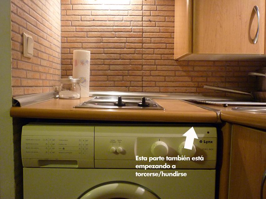 Reparaci n de mueble de cocina y encimera madrid madrid for Reparacion muebles de cocina