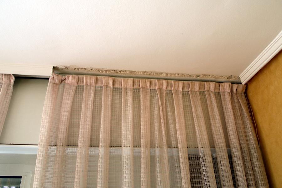 Reponer moldura de escayola y techo de escayola nuevo - Precio moldura escayola techo ...