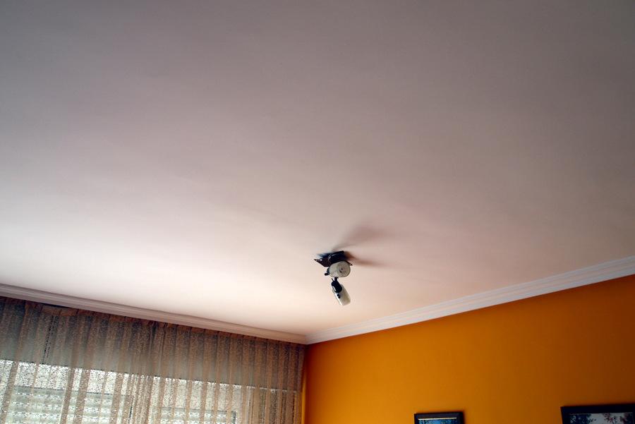 Reponer moldura de escayola y techo de escayola nuevo - Poner molduras de escayola ...