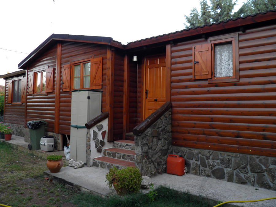 Reparar fachada de casa de madera prefabricada nuevo - Casa madera prefabricada ...