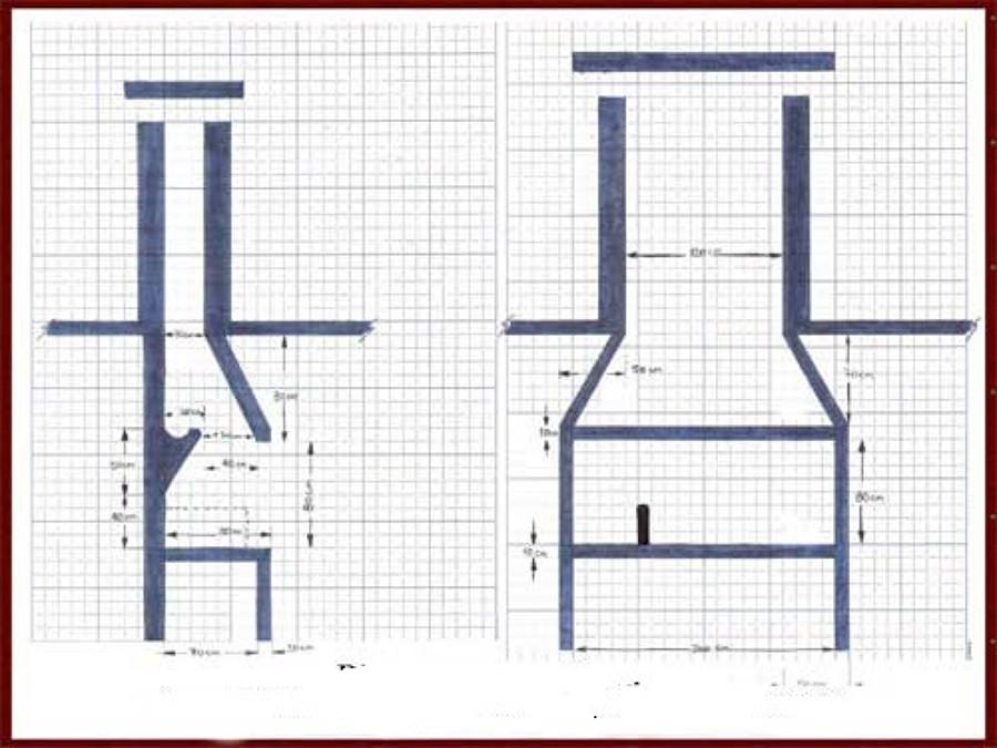 Casas cocinas mueble construir una barbacoa de obra - Como hacer una chimenea de obra ...