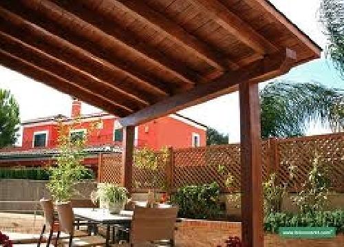 Techos madera terrazas para ajilbabcom portal picture pictures - Techos para terrazas ...