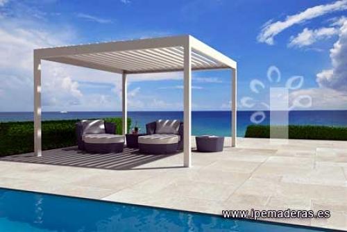 Instalar pergola aluminio en atico sevilla sevilla for Pergolas aluminio precios