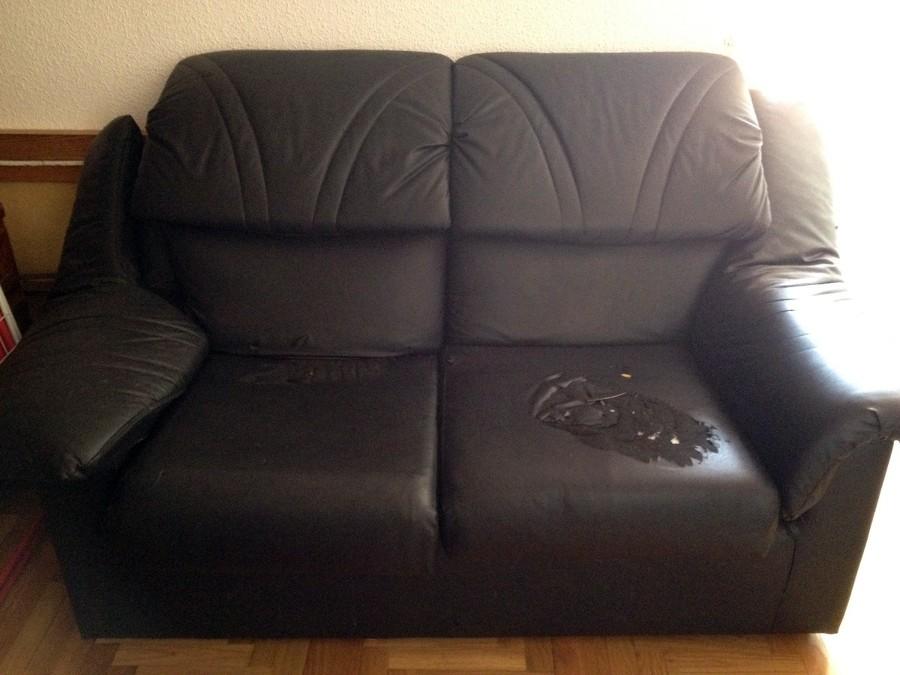 Tapizar dos cojines de un sof madrid madrid habitissimo - Tapizar sofas precios ...