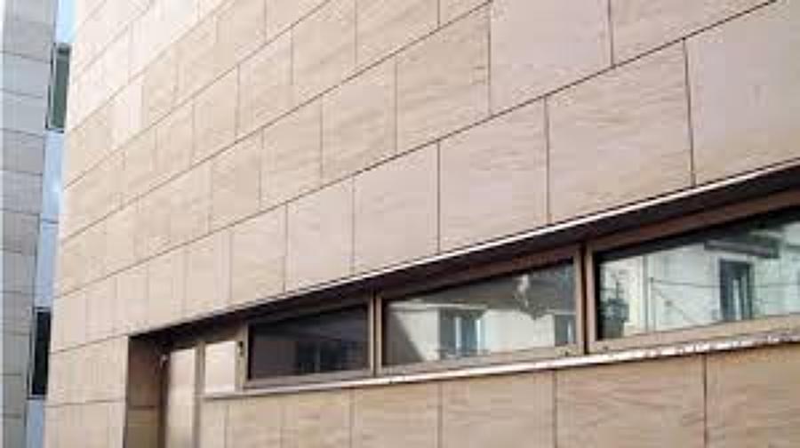 Reforma de exteriores sector 3 getafe madrid - Fachadas ventiladas de piedra ...