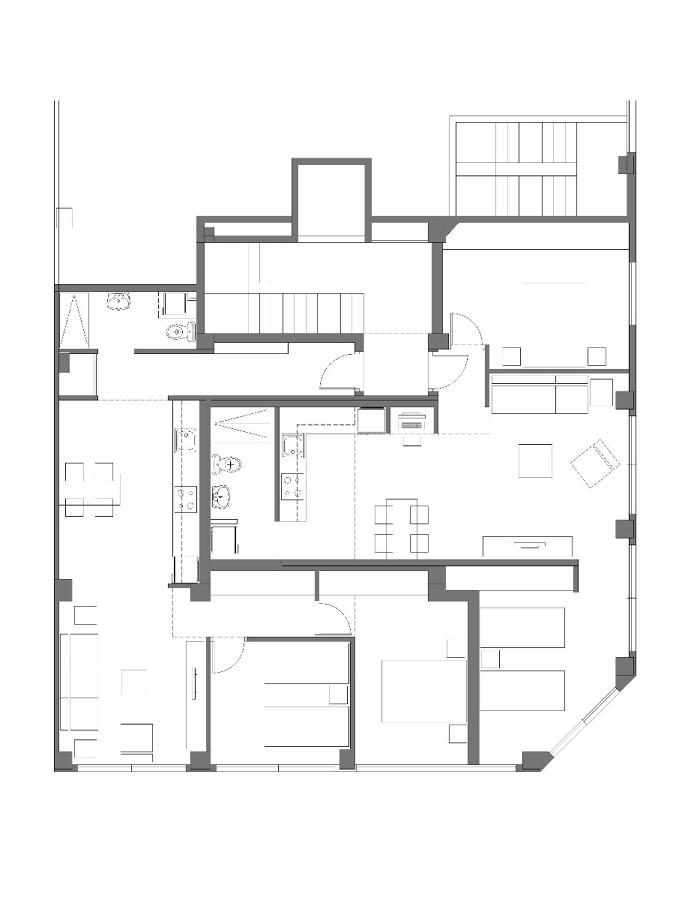 Cambio de uso de local de oficinas a dos viviendas elche for Cambio de uso de oficina a vivienda