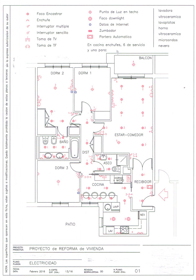 Roformar electricidad de vivienda bilbao vizcaya - La casa del electricista bilbao ...