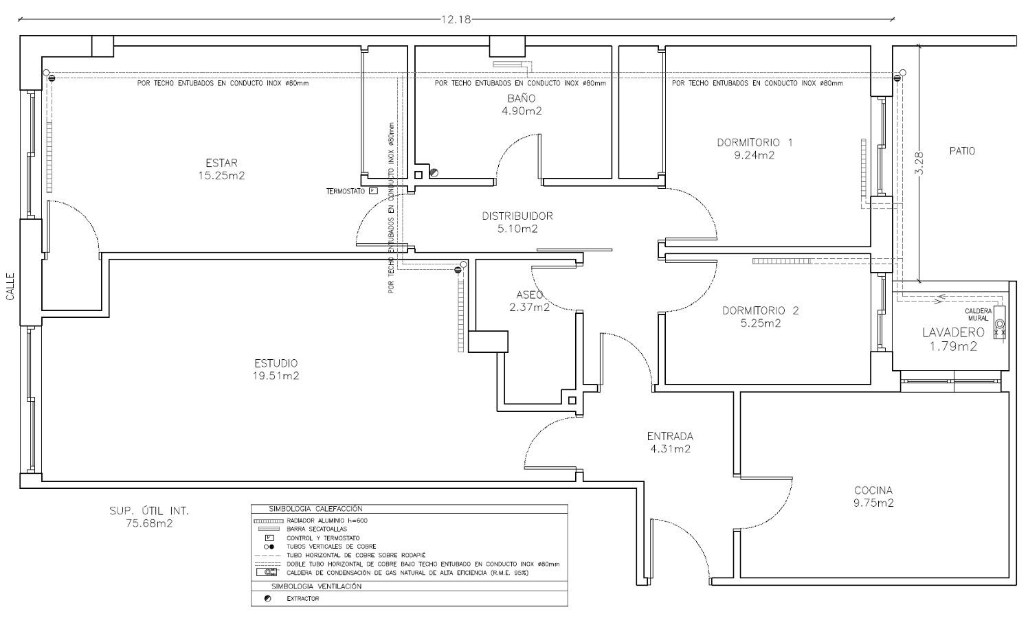 Presupuesto de instalaci n de calefacci n y acs para piso - Calefaccion para un piso ...