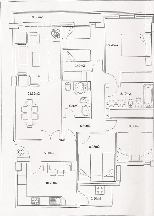 pintar piso de 100 m2 poligono tres caminos c diz