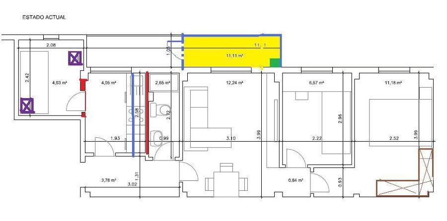 Realizar reforma integral de piso de 55 m2 madrid for Precio m2 reforma integral