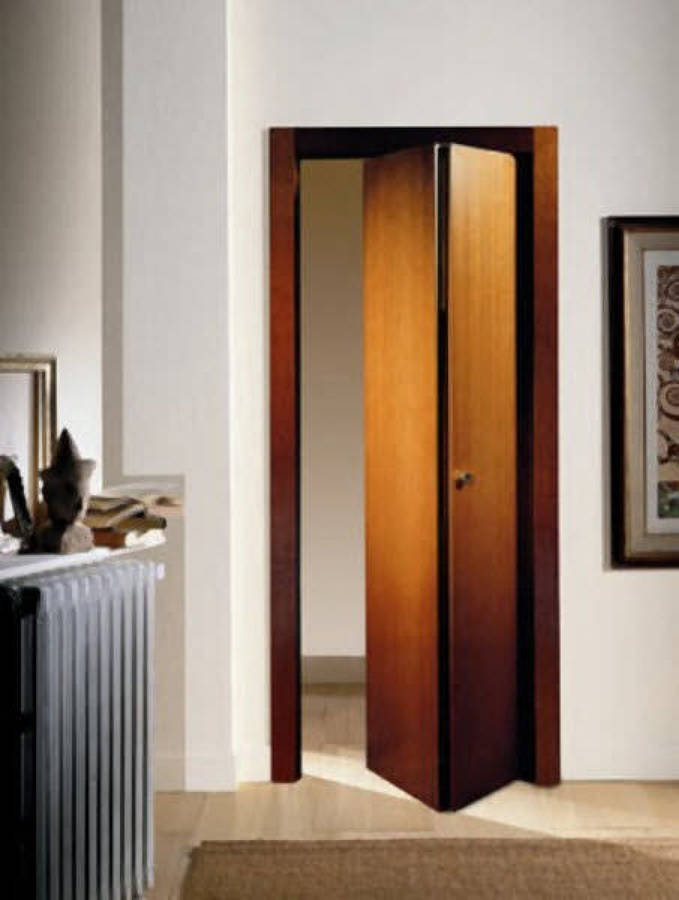 Puerta plegable de madera barcelona barcelona - Puerta plegable madera ...
