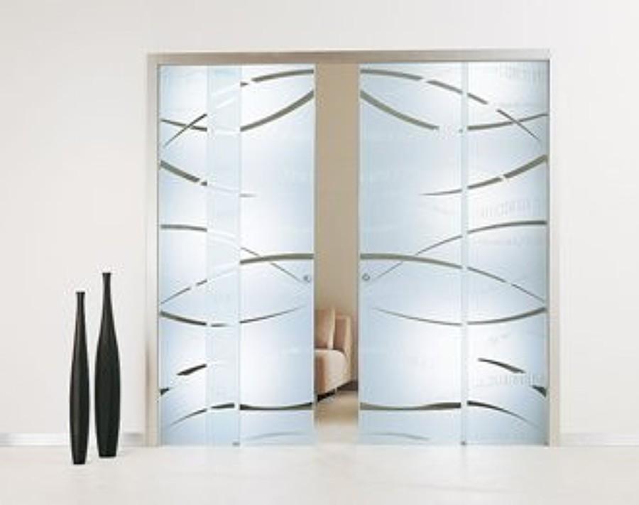 Presupuesto puerta corredera doble de cristal - Puertas de cristal correderas precios ...