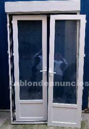 Puerta oscilobatiente climalit atascada madrid madrid for Puertas de aluminio precios online