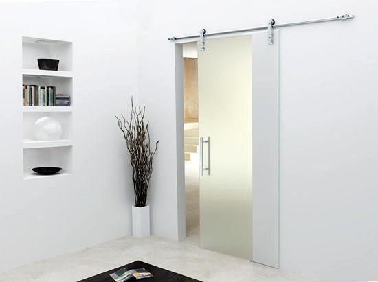 Instalar puertas correderas de cristal para sal n - Cristal puerta salon ...