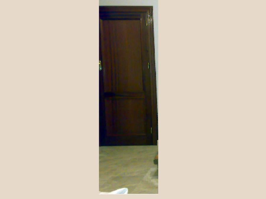 Pintar puertas barnizadas mate oscuro de madera de - Pintar puertas barnizadas ...