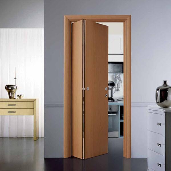 Puertas plegables de madera cervell barcelona - Vente porte coulissante interieur ...