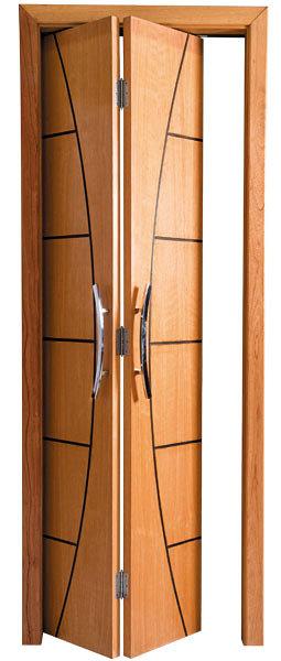 Puertas plegables de madera cervell barcelona - Puertas plegables cocina ...