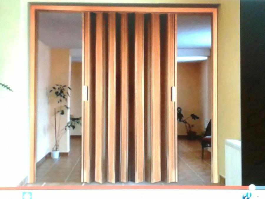 Puertas puertas correderas fuelle decoraci n de - Cortinas para puertas correderas ...