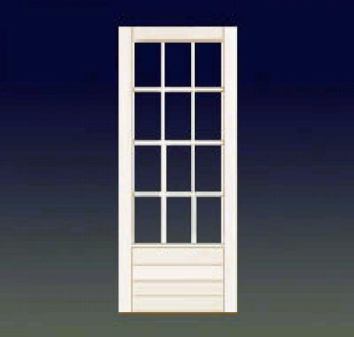 Instalar puerta de aluminio blanco y cristal camino de - Fotos puertas de aluminio ...