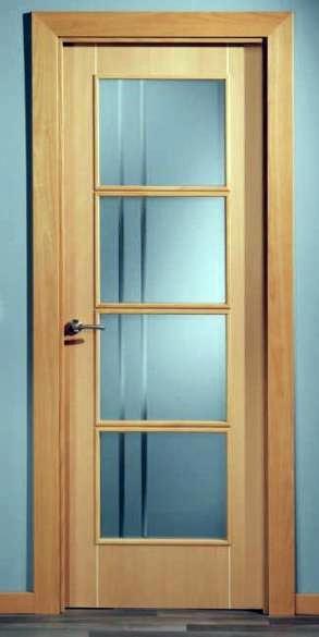Puertas de interior baratas precios blancas modernas y for Puertas lisas baratas