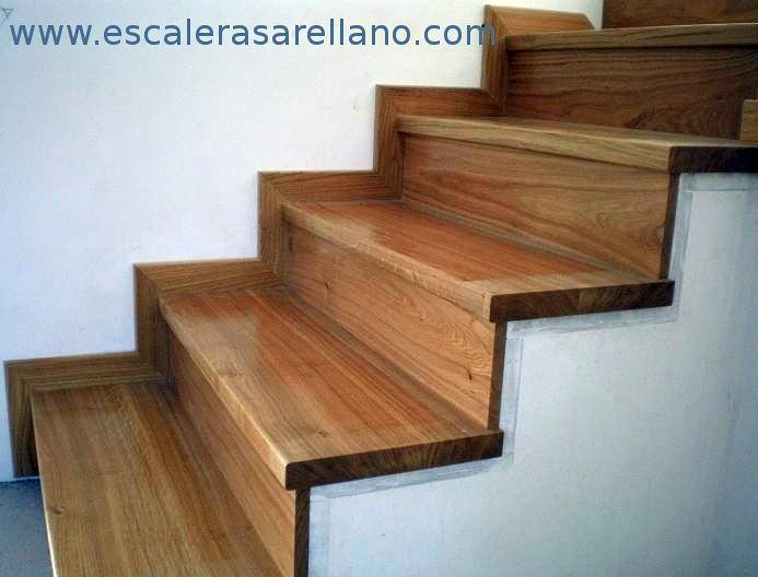 Revestir escalera con madera las ventas de retamosa - Precio escaleras de madera ...