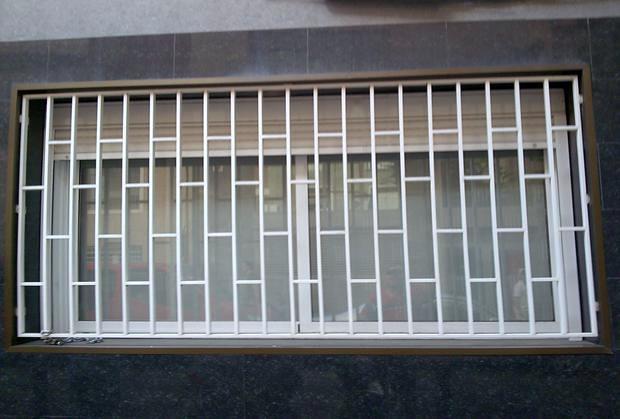 2 rejas de ventana y puerta de hierro para lavadero l - Fotos de rejas ...