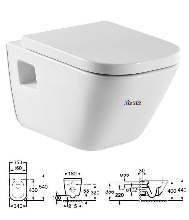 Suministro 3 Inodoros Suspendidos Con Cisterna Empotrable