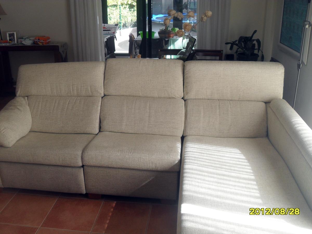 Tapizar sof chaise longue oleiros a coru a habitissimo - Precio tapizar sofa ...