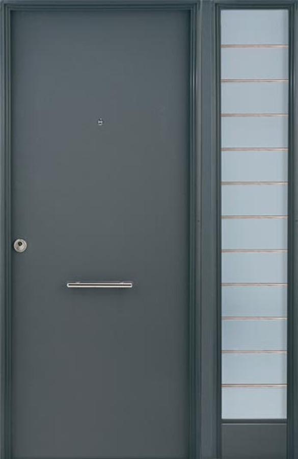 Instalar puerta exterior met lica sin cristalera sevilla for Puerta metalica exterior