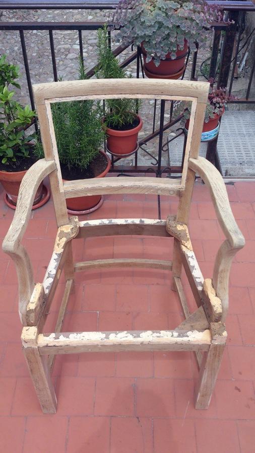 Tapizar silla antigua talamanca del jarama madrid habitissimo - Precio tapizar sillas ...