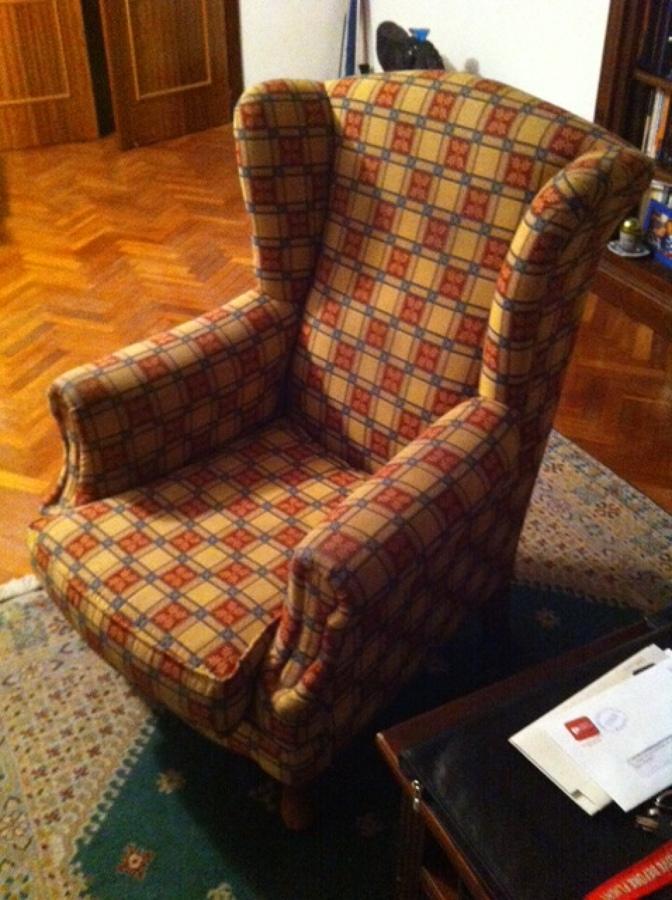 Tapizar dos sillones orejeros mirasierra madrid madrid - Tapizar sillon precio ...