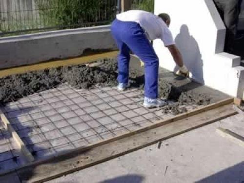 Hacer solera de hormig n de unos 20m2 para colocar caseta - Como hacer una caseta de obra ...