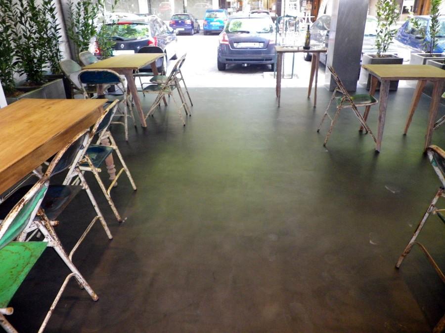 Suelo de microcemento suelo de cemento pulido barcelona - Suelo de microcemento pulido ...