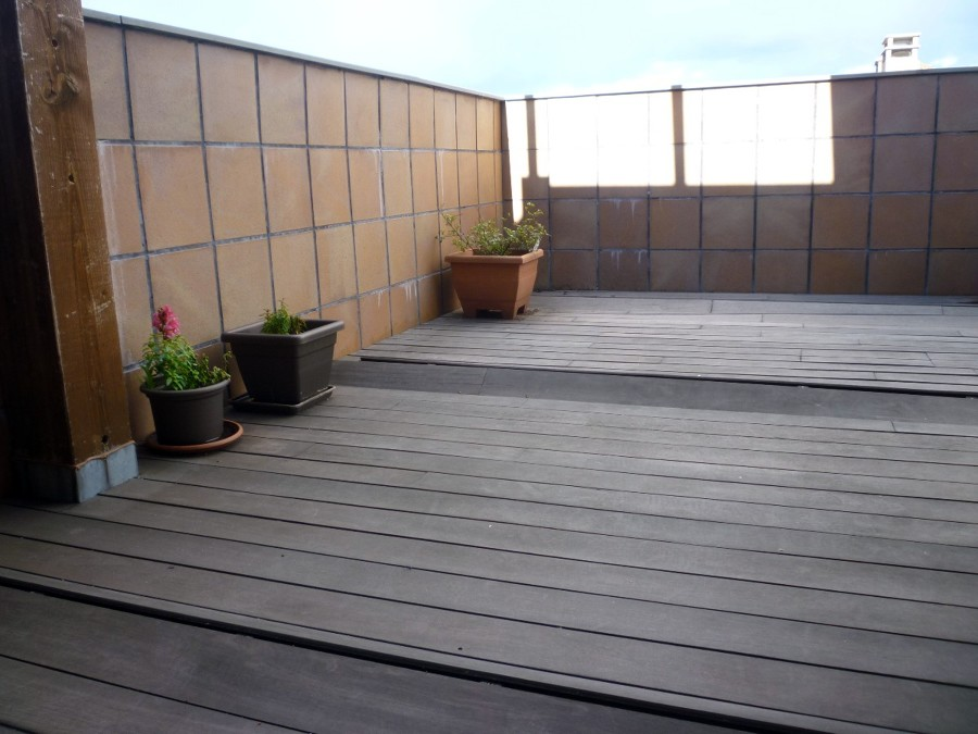 Reformar tarima exterior en terraza san agust n de - Tarima para terraza ...