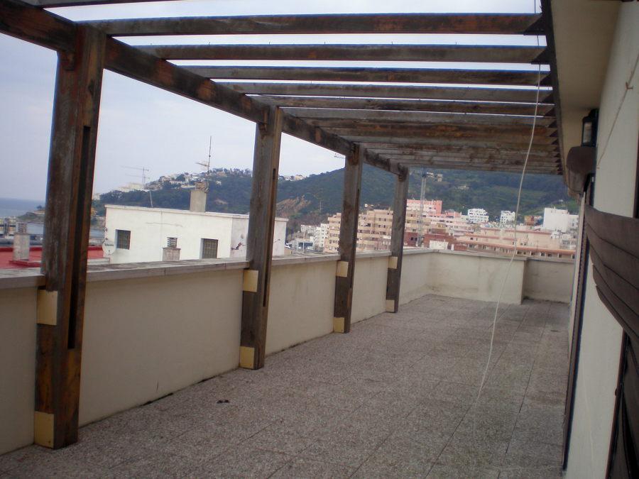 Cerramiento atico con cortina cristal y techo movil - Terraza de cristal ...