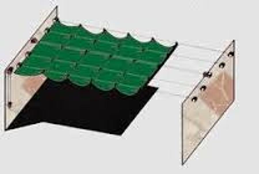 Colocar toldo o pergola sobre corredera para patio de - Precios de toldos para patios ...