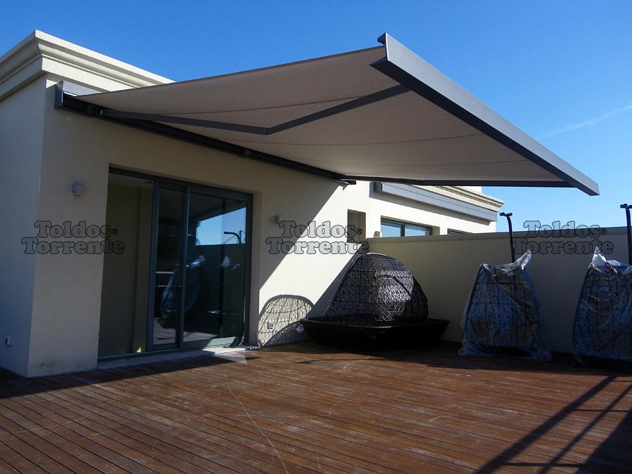 Precio de toldos para terraza elegant toldos para jardin - Precio toldos terraza ...