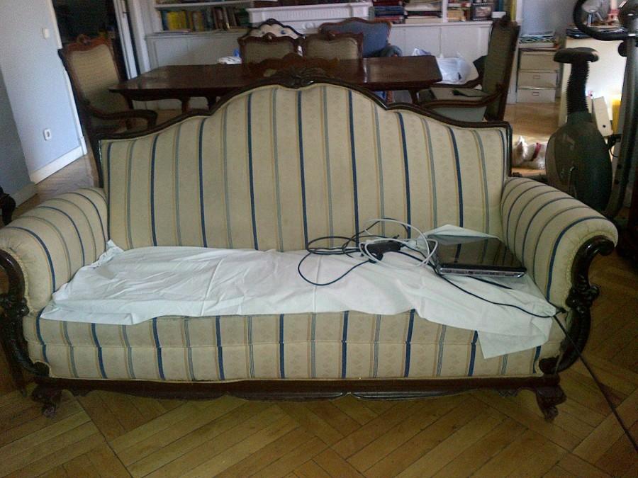 Tapizar tresillos y sofas madrid madrid habitissimo - Presupuesto tapizar sofa ...