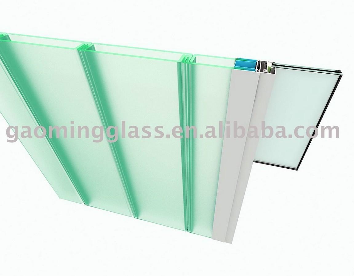 Instalaci n de muro u glass para fachada de vivienda for Precio m2 tabique pladur colocado