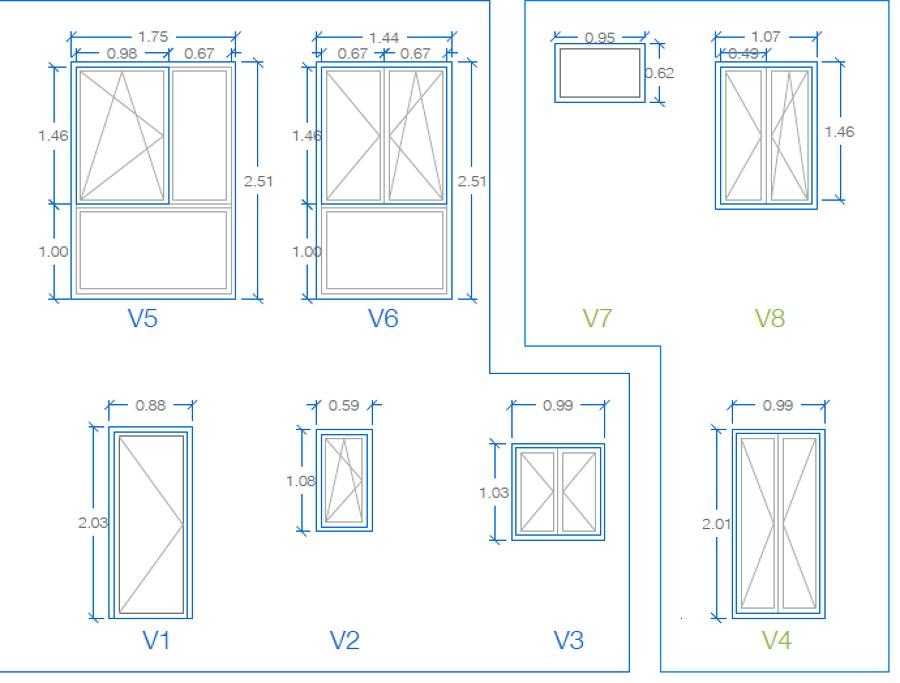 Suministro de ventanas pvc y o aluminio madrid madrid for Precio ventanas aluminio a medida