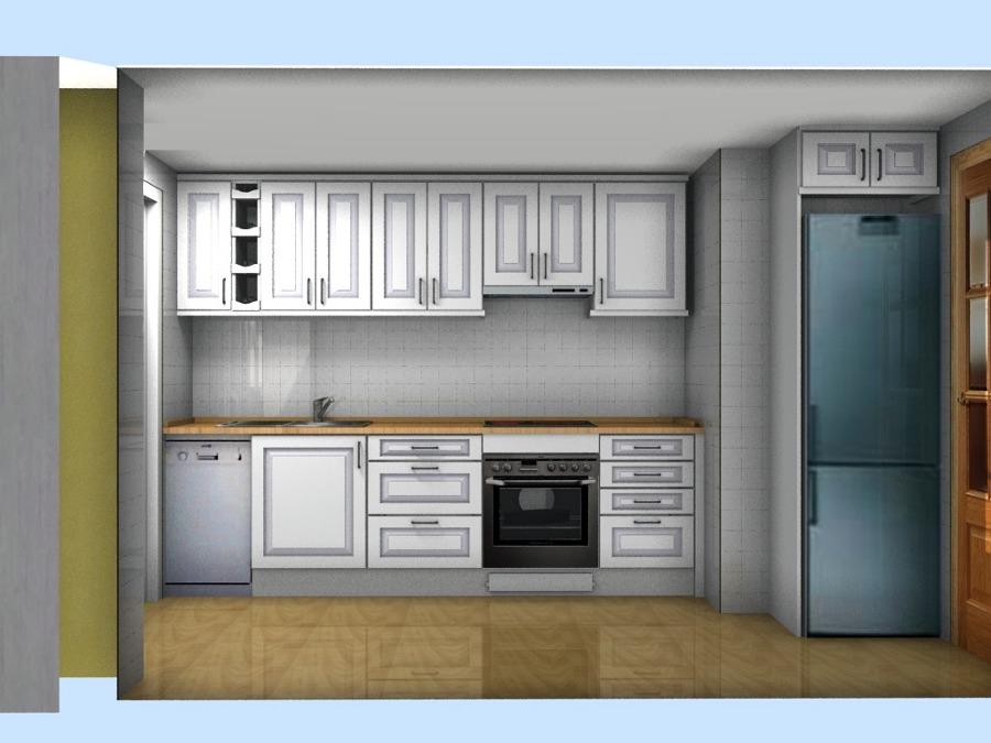 Presupuesto muebles de cocina en pvc y encimera cocina en ...