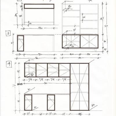 Muebles a medida para oficina en casa centro sevilla - Muebles a medida sevilla ...
