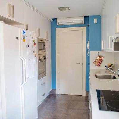 Pintar piso 100m2 y desplazar un metro la puerta de un for Presupuesto pintar piso 100m2
