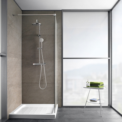 Instalar mampara de ducha con cristal fijo valencia - Instalar mampara ducha ...
